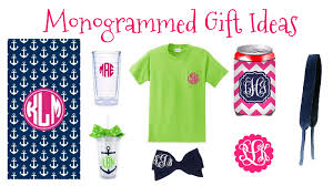 monogramed items stay fabulous monogrammed gift ideas