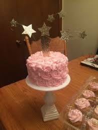 twinkle twinkle little star 1st birthday cake and smash cake by