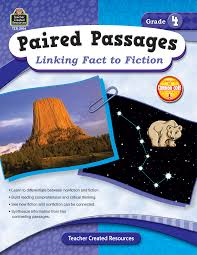 Reading Comprehension 7th Grade Worksheets Paired Passages Linking Fact To Fiction Grade 4 Tcr2914