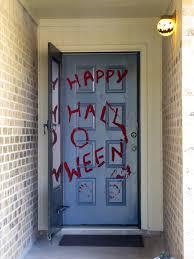 halloween door facade u0026 8 foot 3 section six door morgue great