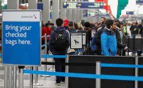 new york airline bumping of passengers falls to lowest rate