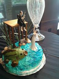 fishing grooms cake grooms cake fishing theme cake toppers on