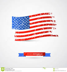 Usa Flag Vector Vector American Flag Dirty Grunge Stock Vector Image 37414549