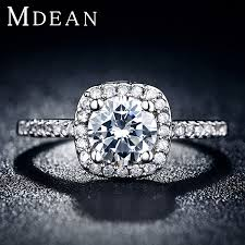 fine diamond rings images S925 hot fine white gold plated ring cz diamond jewelry trendy jpg