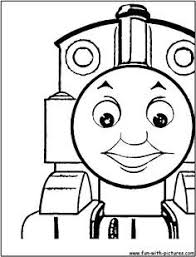 thomas tank engine train kids colouring pictures print