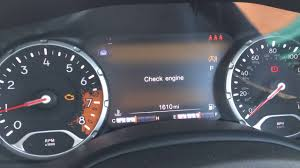 2015 jeep renegade check engine light jeep renegade errors and engine loss while driving youtube