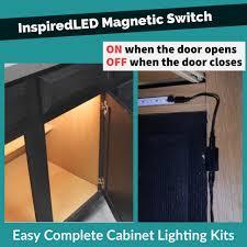 Closet Light Turns On When Door Opens Inspiredled Magnetic Switch On When The Door Opens When The