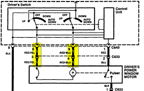 1997 honda accord window wont go up need wiring expert