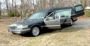 hearse for sale dale earnhardt s hearse for sale on ebay seller claims vehicle