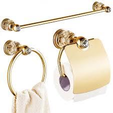 Gold And Silver Bathroom Accessories Compare Prices On Gold Bathroom Accessories Sets Online Shopping