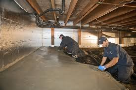 concrete for crawl spaces encapsulation permadry waterproofing
