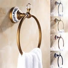 hooks european vintage bathroom accessories antique brass robe