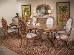excursions rectangular dining room set aico furniture furniture cart