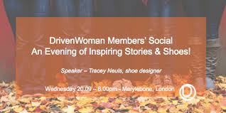 drivenwoman members social evening inspiring stories and shoes