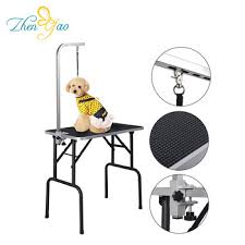 dog grooming table for sale folding portable pet grooming table zhenyao gt 202 dog grooming