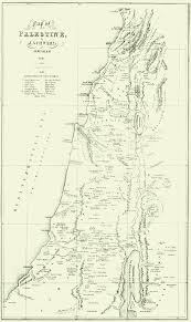 Map Of Isreal Map Of Palestine 1845