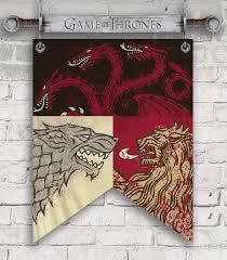 jun173185 game of thrones swords u0026 banner metal wall decor