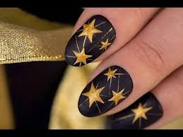 star nails stars in nail art design youtube