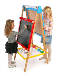 Magnetic Easel For Toddlers | 86 easel kids 4 in 1 art easel set is on sale for 64 at target