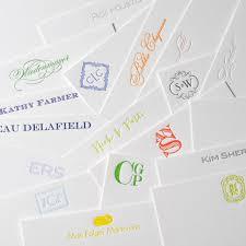 custom notecards diy letterpress custom notecards form the personal stationery