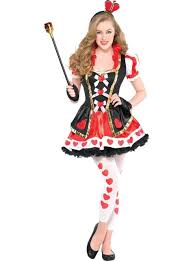 Young Girls Halloween Costumes Teen Girls Sassy Queen Hearts Costume Party