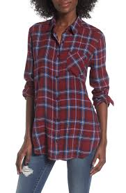 women u0027s plaid tops u0026 tees nordstrom