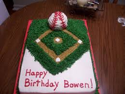 20 best cakes sports cubs images on pinterest birthday cakes