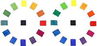 handprint color wheels
