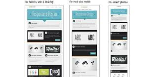 how to layout a email 30 free responsive email and newsletter templates