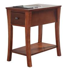 end table with usb port northcrest ridgefield accent table with usb port power cord shopko