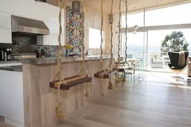 Kitchen Cabinet Kings Swing Bar Stools And 9 Other Chic Kitchen Ideas Around The World