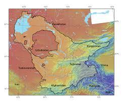 Aral Sea Map Aral Sea