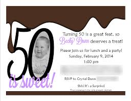 50th birthday party invitations ideas hpdangadget com