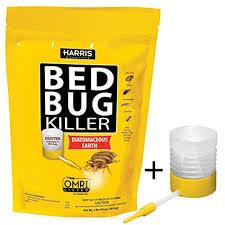 lights out bed bug killer amazon com harris bed bug killer diatomaceous earth powder fast
