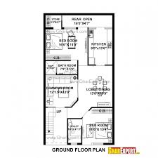 16 x 50 floor plans homes zone fascinating duplex house plans 30x50 south facing homes zone 15 50