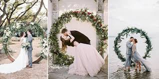 wedding arches images top 20 pretty circular wedding arches for 2018 trends