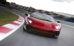 car lamborghini red red lamborghini aventador lp750 4 sv on the racing track wallpaper