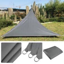 Triangular Patio Awnings Triangle Patio Shade Sails Ebay