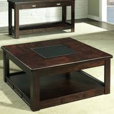 coffee table coffee table solid wood square espresso jericho glass