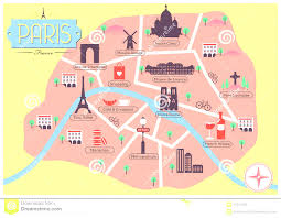 Map Of Tour De France by Map Of Paris Tourist Attractions Sightseeing Tour At Map Landmarks
