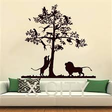wall ideas safari wall art safari canvas wall art nursery safari animal wall art for nursery wall decals lion tree monkey safari landscape children vinyl sticker boy girl nursery bedroom home decor art murals