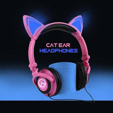 light up cat headphones overwatch d va reaper light up cat ears headphone sd02079 syndrome