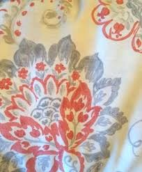 Coral And Gray Curtains Coral And Grey Curtains Teawing Co