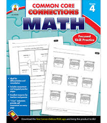 common core connections math for 4th grade resource book from