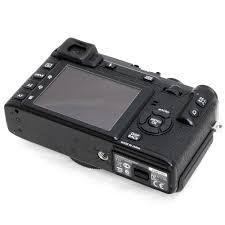 used fujifilm x e1 digital camera black body only with