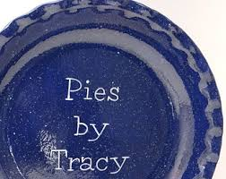 personalized pie plate ceramic pie dish personalized pie plate pretty flower pie