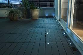 le de terrasse encastrable eclairage terrasse