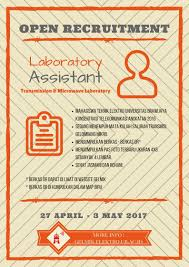 open recruitment assistant lab transmission and microwave 2017