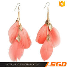 one side feather earring list manufacturers of one side feather earrings buy one side