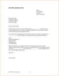 6 job offer acceptance letter rejection letters job offer